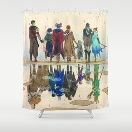 Critical Role Shower Curtain