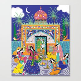 The Guesthouse Canvas Print