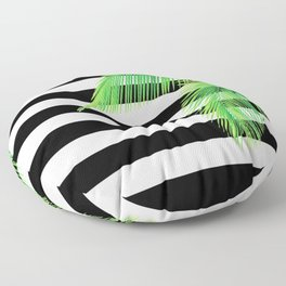 Simply Tropical Stripes Floor Pillow