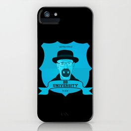 Breaking Bad University iPhone Case