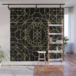 Web of Wyrd  -The Matrix of Fate Wall Mural