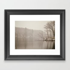 Ode to Walden Framed Art Print