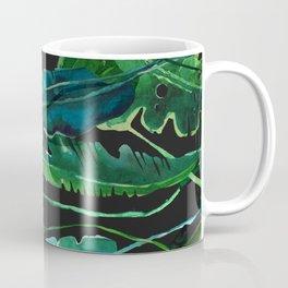 Horizontal Leaves Coffee Mug