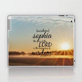 Sophia wisdom Laptop & iPad Skin