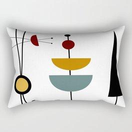 Mid Century 12 Rectangular Pillow