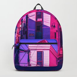 Tokyo During Pink Hour  Backpack