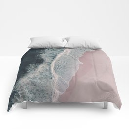 Sands of Cameo Pink Comforters