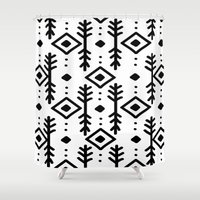 nordic Shower Curtains featuring NORDIC by Nika