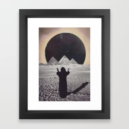 Powers Combine Framed Art Print