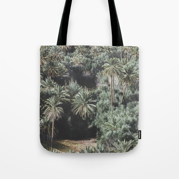 Palm Tree Jungle Tote Bag