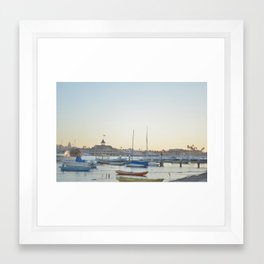 Down by the Bay... Framed Art Print