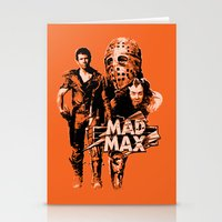 mad max Stationery Cards featuring Mad Max by leea1968