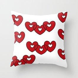 xxxooo Throw Pillow