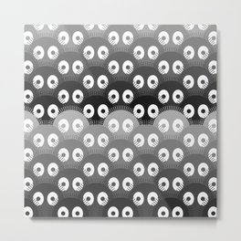 susuwatari pattern Metal Print