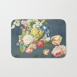 Floral Tribute to Louis McNeice Bath Mat