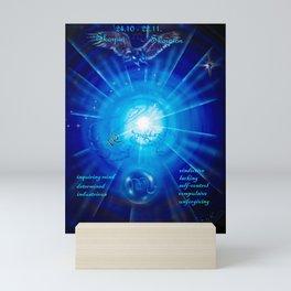 Zodiac sign Skorpio 3 Mini Art Print