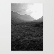 Scottish Highlands - Glencoe Canvas Print