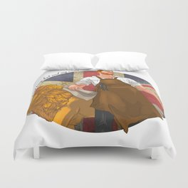Real kings don't need any crown Duvet Cover