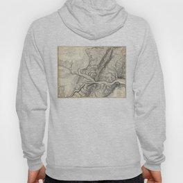 Vintage Map of Harpers Ferry (1863) Hoody