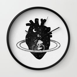 Heart choices. Wall Clock