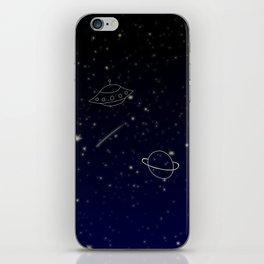 Space Trip to Saturn iPhone Skin