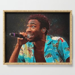 Donald Glover Serving Tray