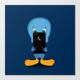 Tweeter Bird Canvas Print