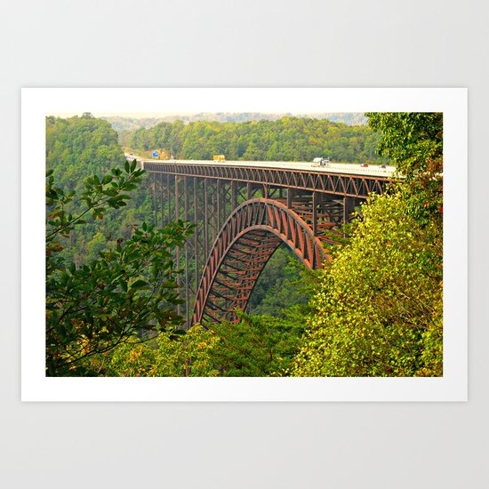New River Gorge Art Print