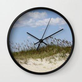 Kure Beach #1 Wall Clock