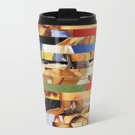 Glitch Pin-Up Redux: Jessica Metal Travel Mug