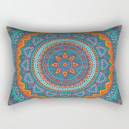 Hippie mandala 75 Rectangular Pillow