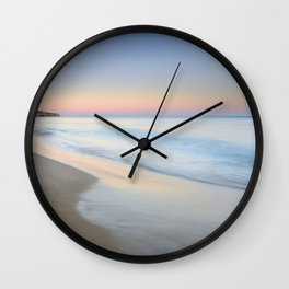 """Ocean dreams II"". Praia Do Porto Mos. Algarve. Portugal Wall Clock"