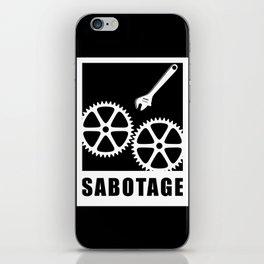 Sabotage iPhone Skin