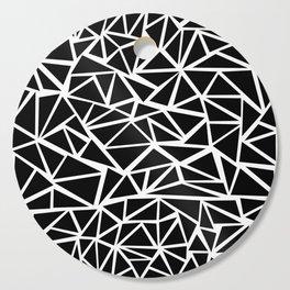 Mozaic Triangle Black Cutting Board