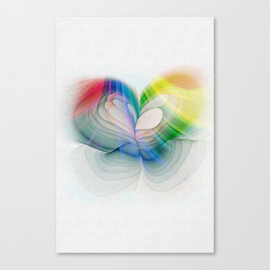 Free to Live & Love Canvas Print