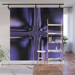Purple Windowpane Wall Mural