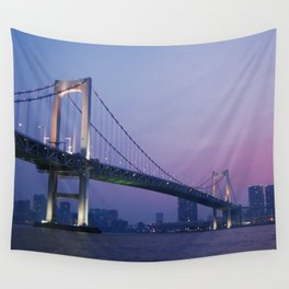 Tokyo Rainbow Bridge Wall Tapestry