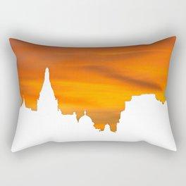 Sunset over London skyline bywhacky Rectangular Pillow