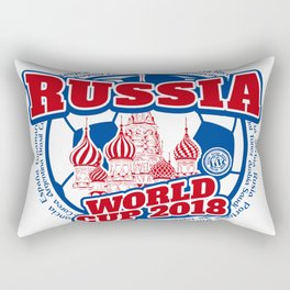 Russia 2018.4 Rectangular Pillow