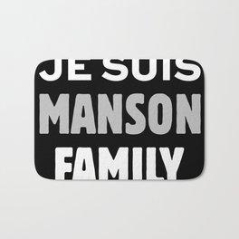 Je Suis - Manson Family Bath Mat