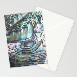 Shimmery Pastel Abalone Shell Stationery Cards