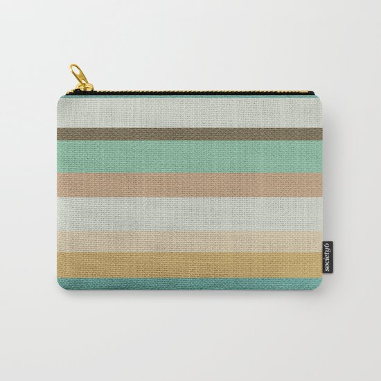 Victorian Stripes Carry-All Pouch
