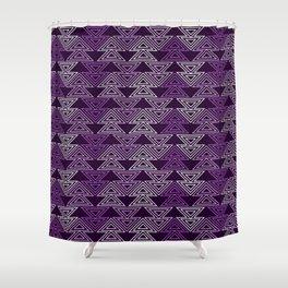 Op Art 124 Shower Curtain