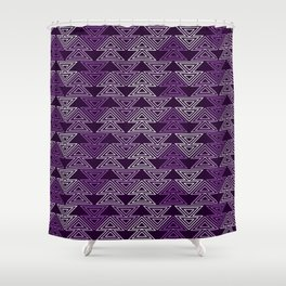 Op Art 124 Shower Curtain