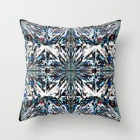 flawless Throw Pillows featuring Flawless by Irina Chuckowree
