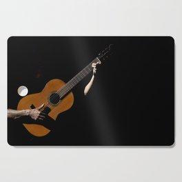 Guitarrist Cutting Board