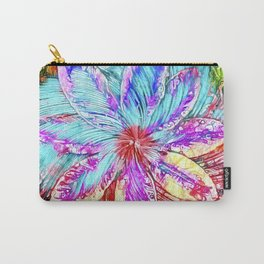 Clematis Swirl Carry-All Pouch