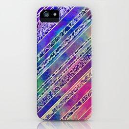 Botanical Stripe iPhone Case