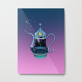 Chill Tea Metal Print