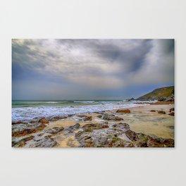Church Cove Beach Gunwalloe 2 Canvas Print